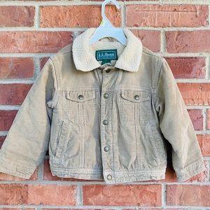 LL Bean jacket 4 size kids